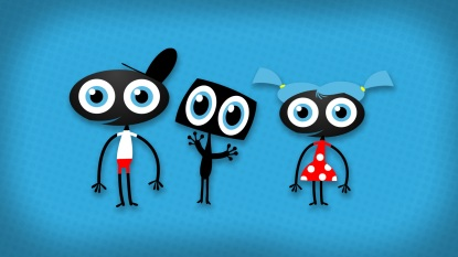 Character design for kid network VTMKZOOM